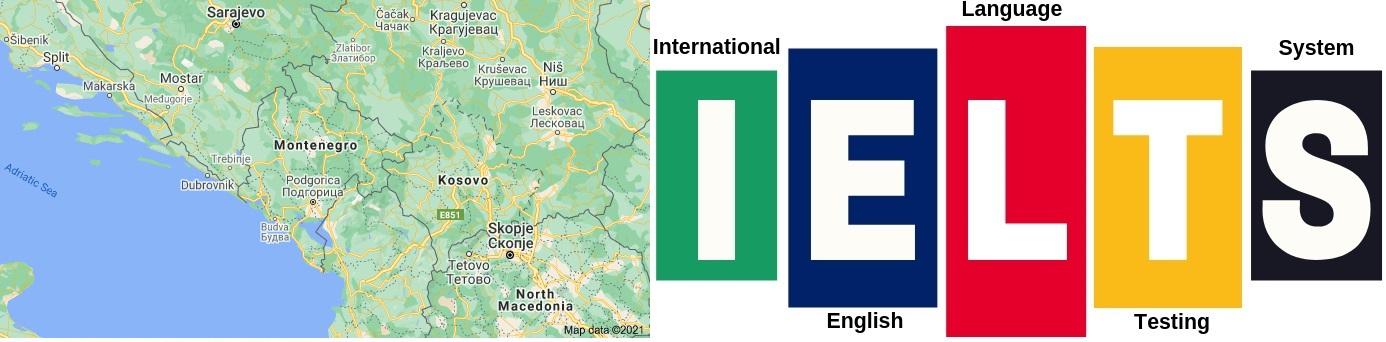 IELTS Test Centers in Montenegro
