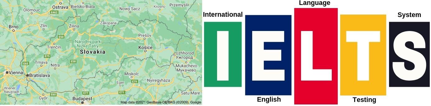 IELTS Test Centers in Slovakia