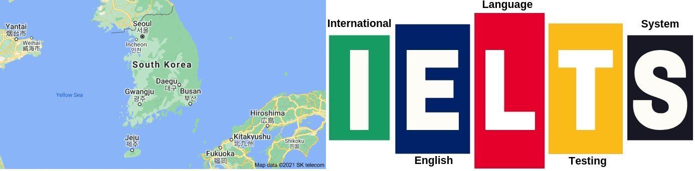 IELTS Test Centers in South Korea