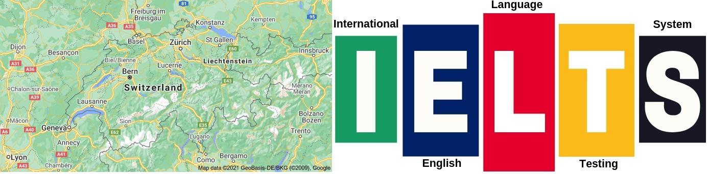 IELTS Test Centers in Switzerland