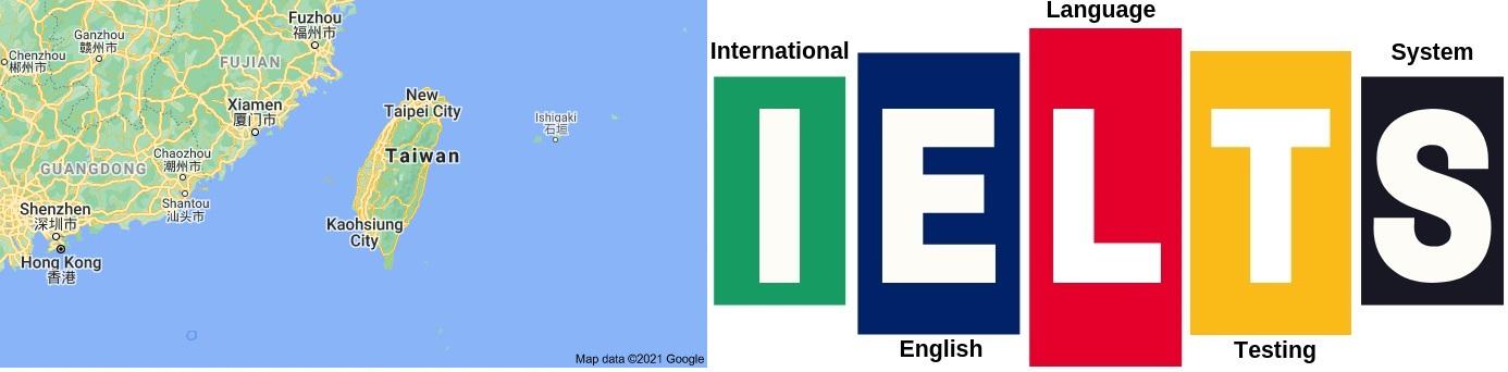 IELTS Test Centers in Taiwan