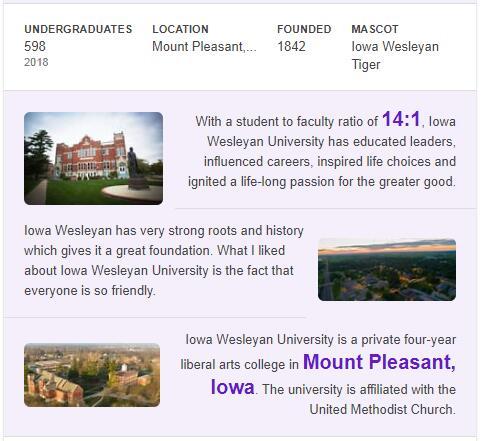 Iowa Wesleyan College History