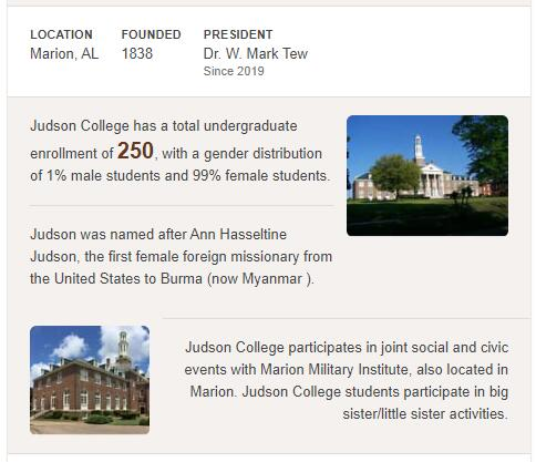 Judson College History