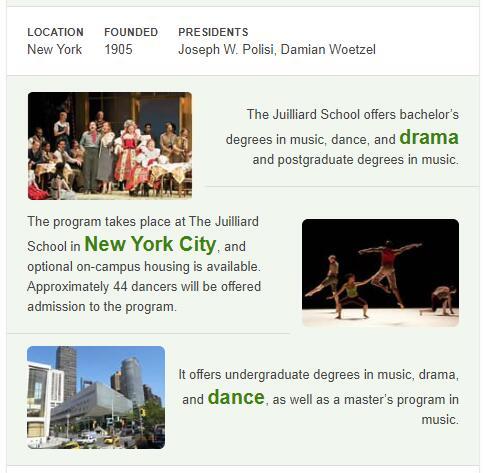 Juilliard School History