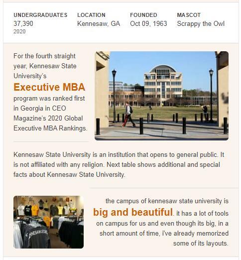 Kennesaw State University History