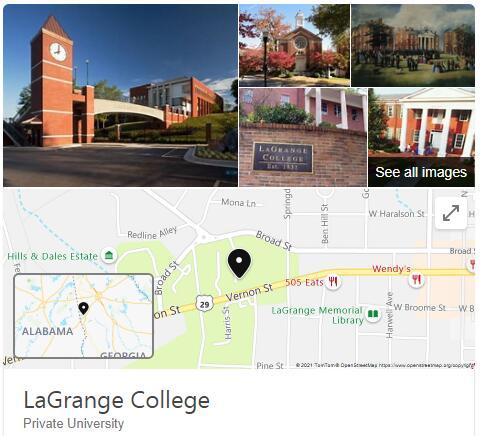 LaGrange College History