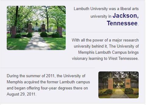 Lambuth University History