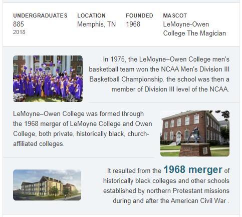 LeMoyne-Owen College History