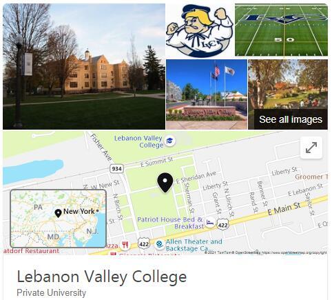 Lebanon Valley College History