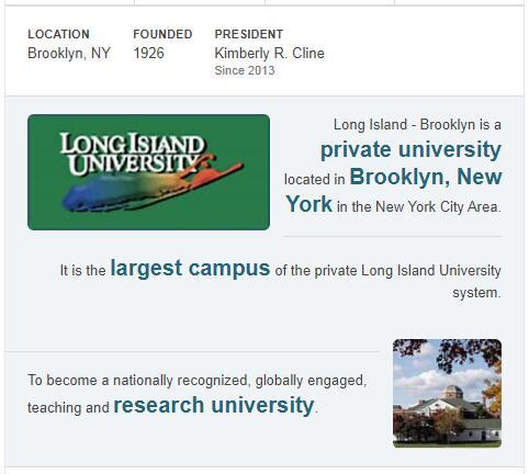 Long Island University-C.W. Post Campus History