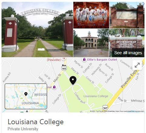 Louisiana College History