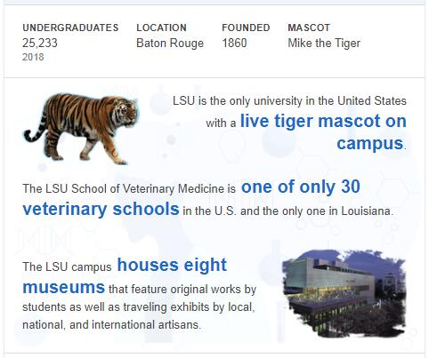 Louisiana State University-Baton Rouge History