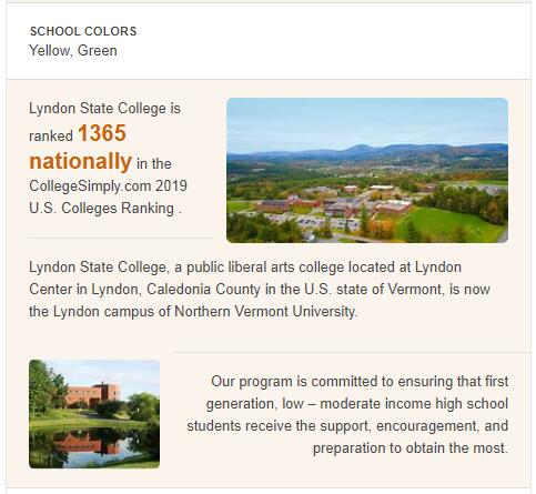 Lyndon State College History