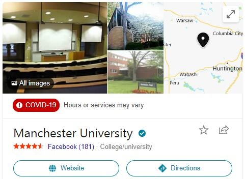Manchester College History
