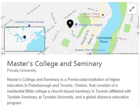 Master's College and Seminary History