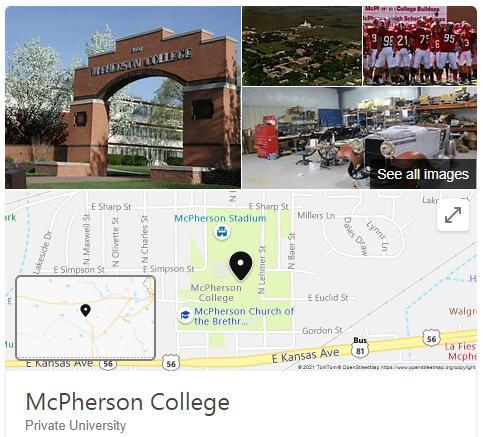 McPherson College History