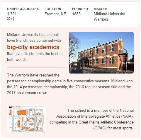Midland Lutheran College History