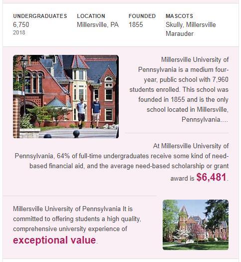 Millersville University of Pennsylvania History