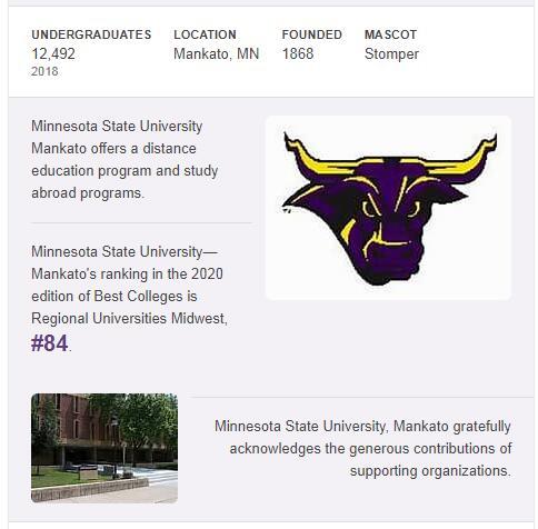Minnesota State University-Mankato History