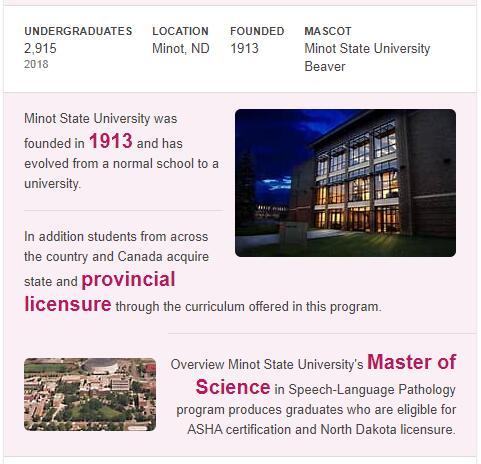 Minot State University History