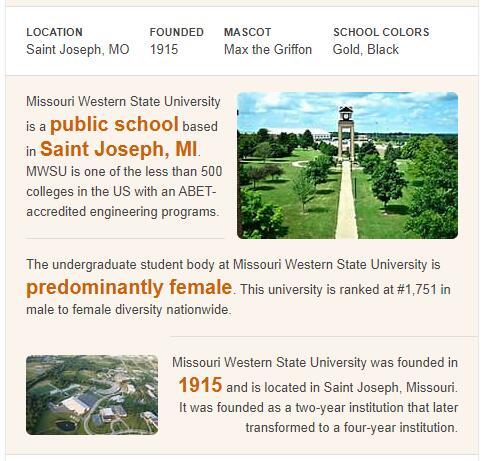 Missouri Western State University History