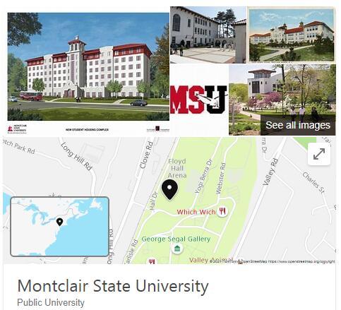 Montclair State University History