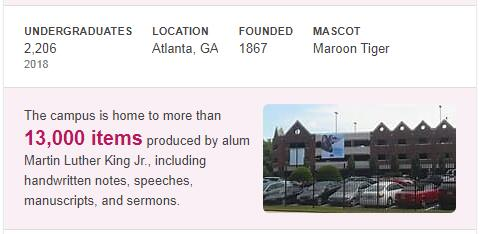 Morehouse College History