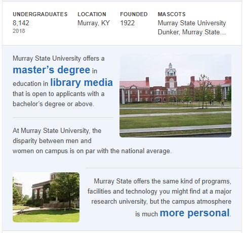 Murray State University History