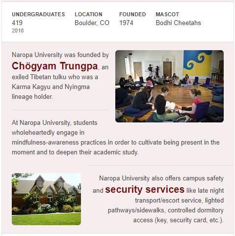 Naropa University History