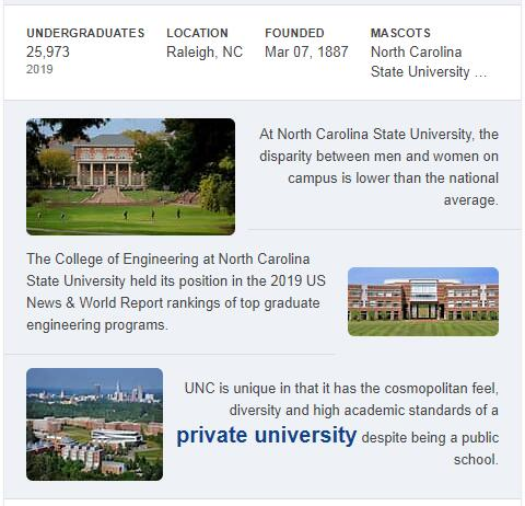 North Carolina State University-Raleigh History