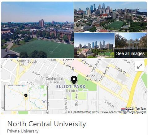 North Central University History