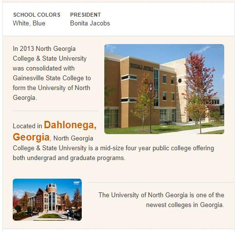 North Georgia College and State University History