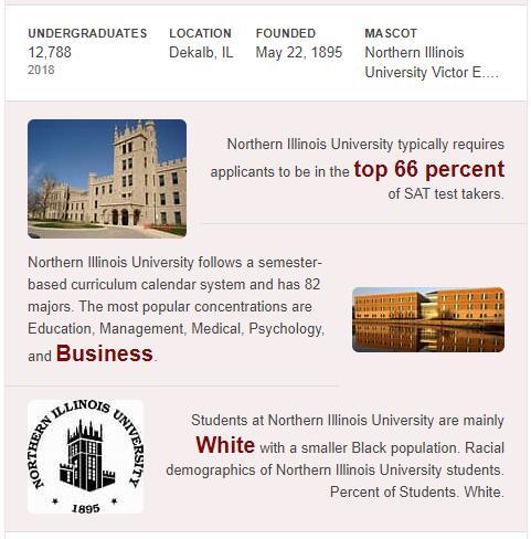 Northern Illinois University History