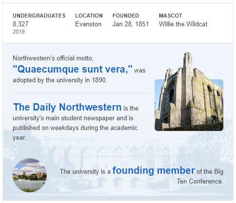 Northwestern University History