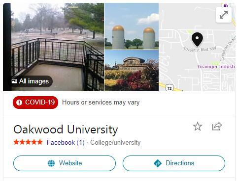 Oakwood University History