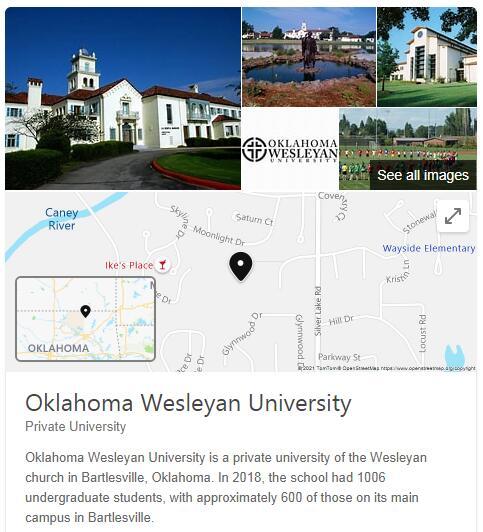 Oklahoma Wesleyan University History