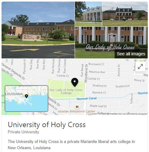 Our Lady of Holy Cross College History