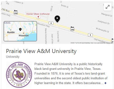 Prairie View A&M University History
