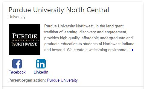 Purdue University-North Central History