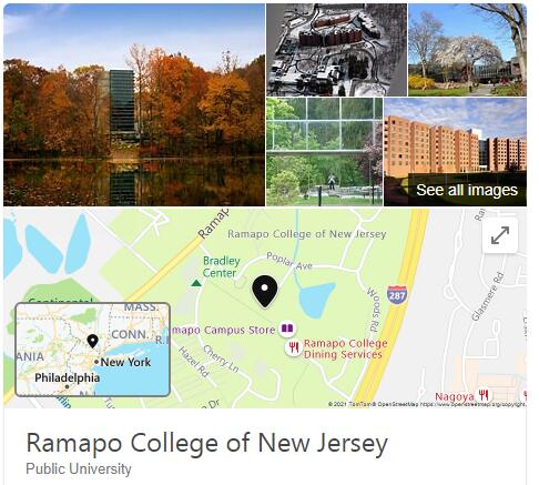 Ramapo College of New Jersey History