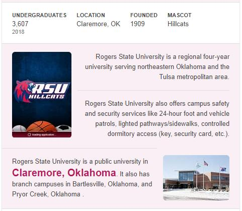 Rogers State University History