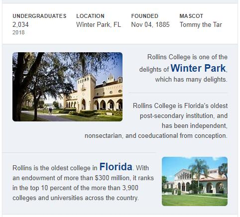 Rollins College History
