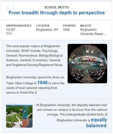 SUNY-Binghamton History