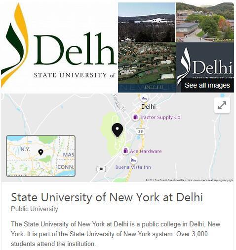 SUNY College of Technology-Delhi History