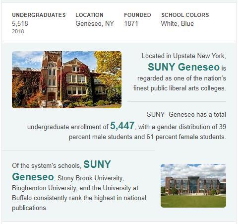 SUNY-Geneseo History