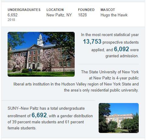 SUNY-New Paltz History