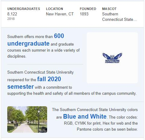 Southern Connecticut State University History