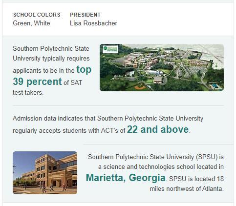 Southern Polytechnic State University History