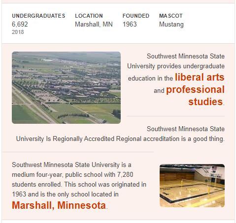 Southwest Minnesota State University History