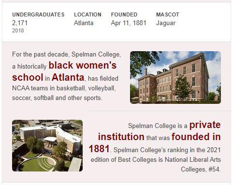 Spelman College History